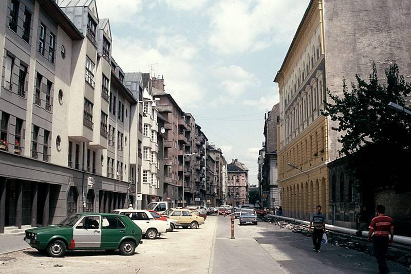 A Tompa utca a rehabilitáció előtt