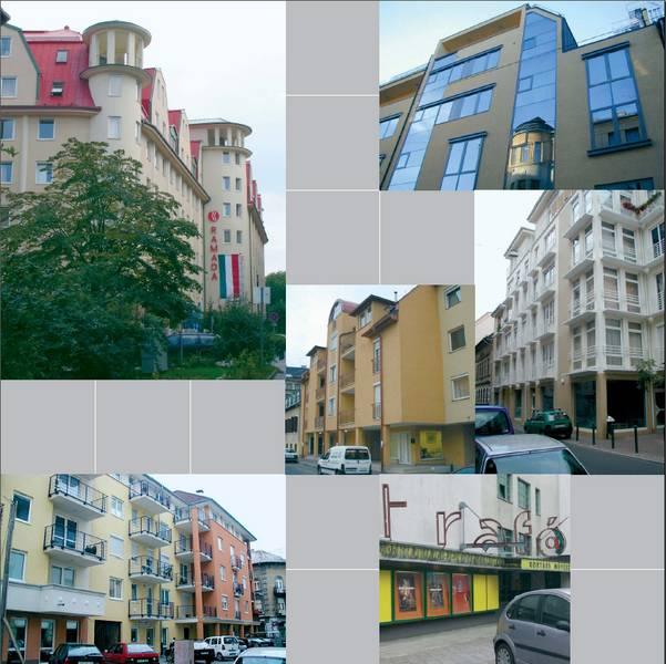 A településrendezési terv szerinti vegyes funkciójú beépítés megvalósítása a rehabilitáció eredményeként