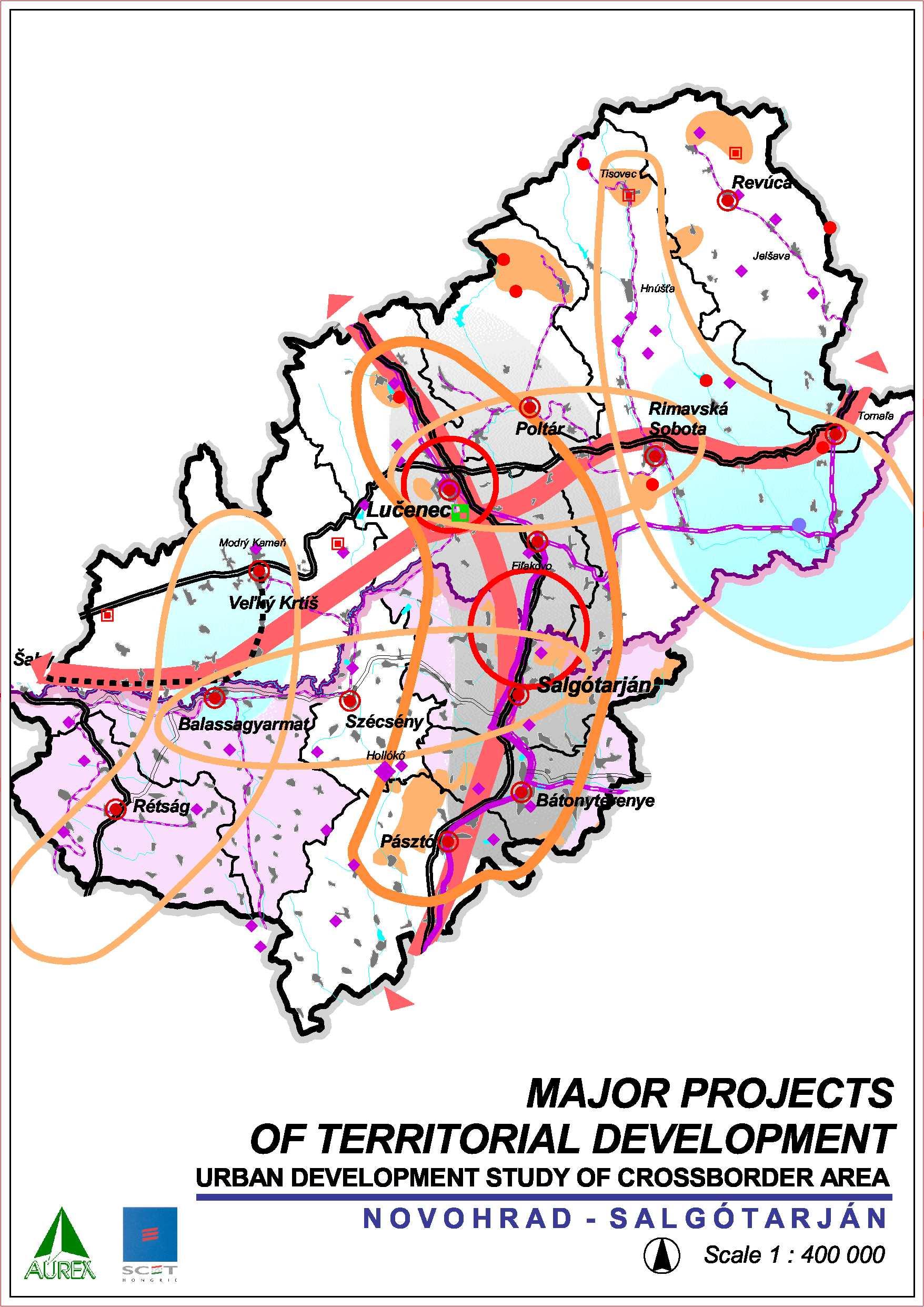 A területfejlesztés nagy projektjei
