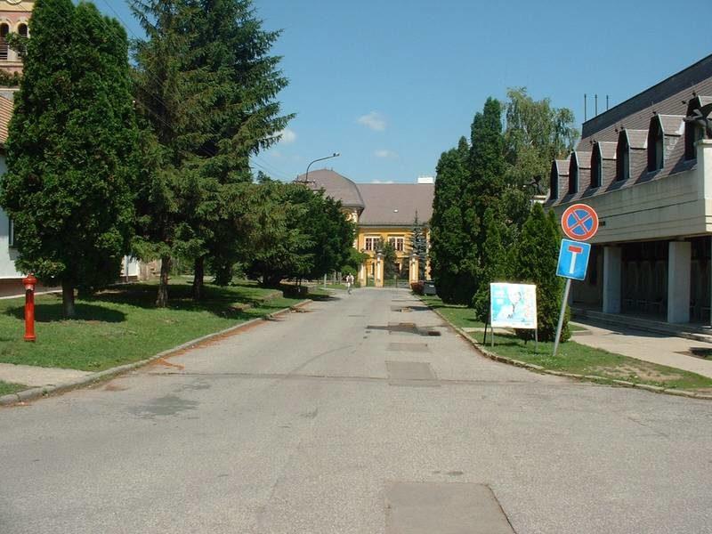 Az Ady Endre utca a rehabilitáció előtt 2