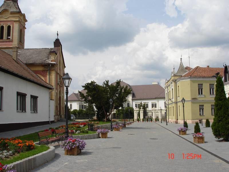 Az Ady Endre utca a rehabilitáció után 2