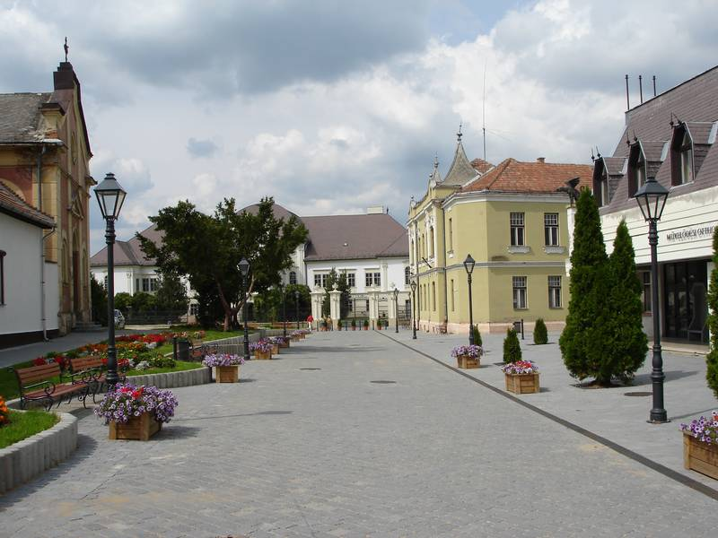 Az Ady Endre utca a rehabilitáció után