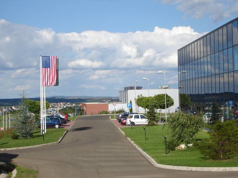 Az ipari park új beépítése 2