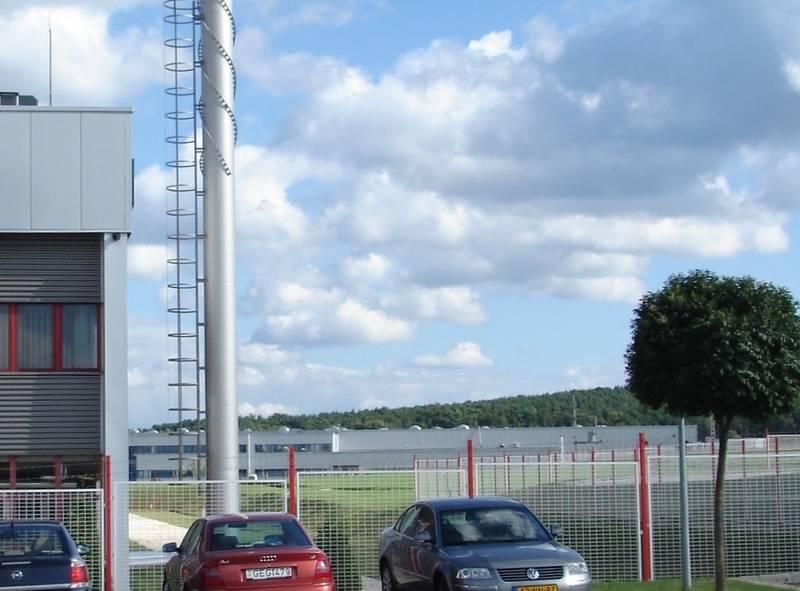 Az ipari park új beépítése