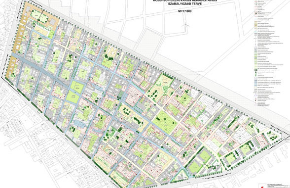 Városrendezési terv