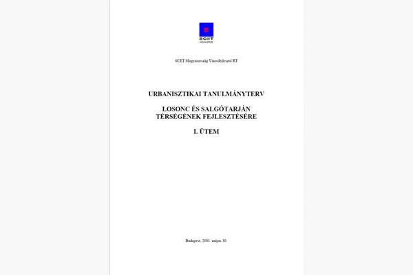 URBANISZTIKAI TANULMÁNYTERV I. - LOSONC, SALGÓTARJÁN