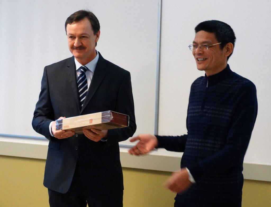 A kínai delegáció köszönetnyilvánítása Dr Bajnai Lászlónak